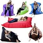 XXXL GIANT BEANBAG CUSHION PILLOW INDOOR OUTDOOR RELAX GAMING GAMER BEAN BAG