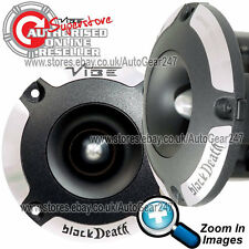 "Single Vibe Blackdeath Pro Audio 4"" Bullet 300w Compression Driver Tweeter"