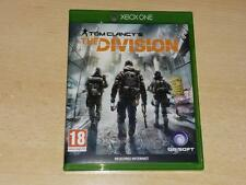 Tom Clancy la división Xbox ** GRATIS UK FRANQUEO ** One