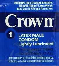 Okamoto Crown Lightly Lubricated Skin Thin Sensitive Condoms 72-Pack