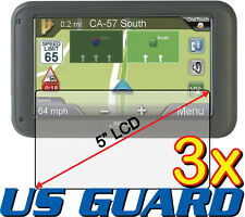 3x Clear LCD Screen Protector Film for Magellan RoadMate 5245T-LM 5255T-LM GPS