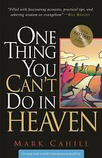 One Thing You Can't Do In Heaven, Mark Cahill, New Books