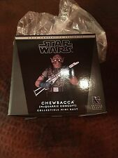 Star Wars Gentle Giant 2016 SDCC Chewbacca (McQuarrie Concept) Mini Bust 142/400