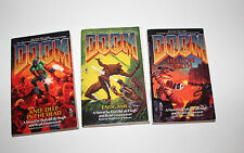 DOOM Books: Knee Deep in the Dead, Hell On Earth, Endgame 1995 Originals!