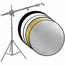 "43"" 5-in-1 Photo Studio 110CM Photography Collapsible Multi Disc Light Reflector"