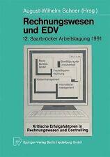 Rechnungswesen und EDV : 12. Saarbrücker Arbeitstagung 1991 12 (2014, Paperback)