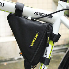 Bike Bicycle Front Frame Pannier Tube Triangle Bag Pouch Head Pipe Quick Release
