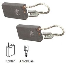 Cepillos de carbón carbón motorkohlen lápices Bosch gsh10c - 6,3x16x26mm favorable (2059)