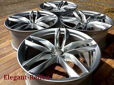 """4 Original Audi 21zoll RS6 4G , Allroad AluFelgen in Silber """" Top zust"""