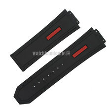 New Silicone Rubber Replacement Watch Band Strap For (Fits) Hublot King Power