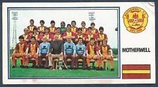 PANINI FOOTBALL 83-#453-A-B-MOTHERWELL TEAM PHOTO