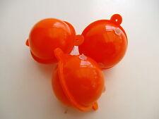 Set di 6 ROUND BOLLE GALLEGGIANTI 30mm Arancione