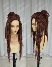 NEW DRAMAtical Murder / Minke /Black Dreadlocks / Cos Wig Cosplay Party Hair Wig
