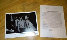 Michael Jackson And Diana Ross Press Promo Photo And Information Rare