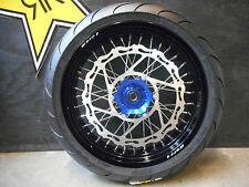 "Warp 9 17"" Supermoto Wheels w/ Tires Yamaha w/ 320mm Rotor and Sprocket"