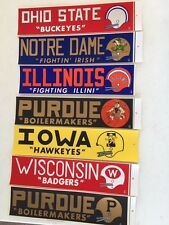 Vintage   Ohio State University Football Bumper Sticker