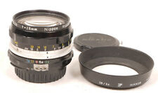 Nikon 28mm F3.5 Nikkor-H Lens Set - Early Factory AI Conversion - EX+