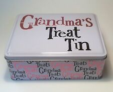 Grandma's Treat Tin Gift Ideas for Her Mum Grandparents Birthdays Mothers Day