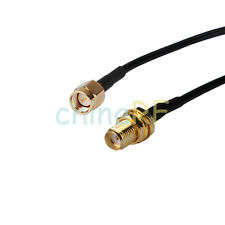 5M SMA Male to Female Coaxial Extension Cable -WiFi Router Antenna Aerial- 50OHM
