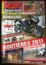MOTO JOURNAL du 9/2010; Kawa Z 1000/ Italian Legendary Tour/ Moto Automatique