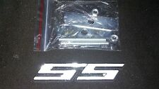 CHEVROLET CAMARO NOVA SS FRONT GRILL EMBLEM WHITE NEW AFTERMARKET