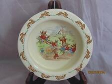 Royal Doulton Rare Barbara Vernon Signed See-Saw Baby Plate