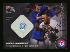 2016 TOPPS NOW 498-B TEXAS RANGERS BELTRE WIN DIVISION RELIC BASE #30/99 LIVE!