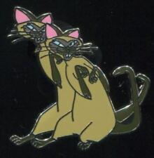 Cats Booster Si & Am from Lady and the Tramp Disney Pin 110424