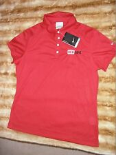 Women's Nike Golf  Athletic Polo Style Top Sz. Large