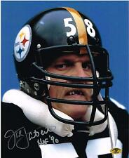 JACK LAMBERT Dracula AUTOGRAPHED Signed PITTSBURGH STEELERS 8X10 PHOTO