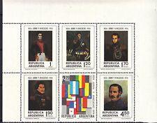 Argentina 1974 Battles of Junin & Ayacucho Jose San Martin MNH Set Sc # 1052 a-f