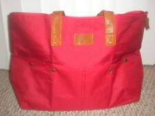 Yves Rocher Roomy Red Travel/Duffle Bag  New In Package