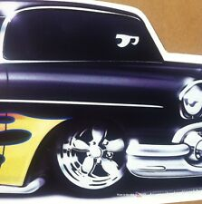 """""""Hollywood Blvd"""" 1957 Chevy New Embossed METAL """"Garage Decor"""" Sign"""