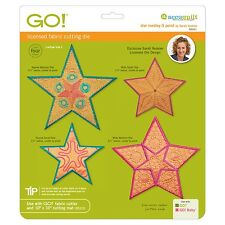 AccuQuilt GO Fabric Cutter Cutting Die Star Medley-5 Point Sarah Vedeler 55311