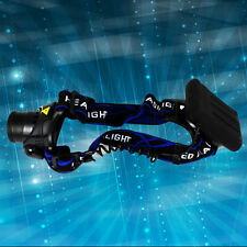New Headlamp CREE 2000Lm 3 Modes Led Head Torch For Searching XQ19-T6/4AA