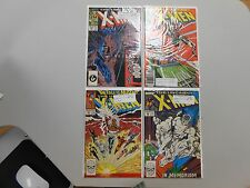 X-Men comic lot of 4! #'s220,224,227 and 228! All VF8.0+! Copper age Marvel!