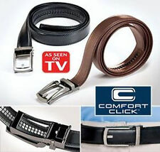 2016 New Comfort Click Belt Leather Automatic Men's Lock Buckle As Seen on TV