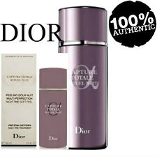 100% AUTHENTIC DIOR CAPTURE TOTALE Perfection RITUEL NUIT NIGHTTIME FACE PEEL