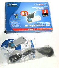 D-link AirPlus G DWL-G122 USB Wireless Adapter New NIB