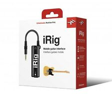 IK Multimedia iRig Mobile Guitar Interface For iPad iPhone & iPod Touch