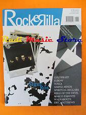 rivista ROCKERILLA 301/2005 Sigur Ros Goldfrapp Simple Minds Tosca (*) No cd