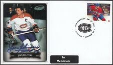 JEAN BELIVEAU - LE GROS BILL - IN MEMORIAM SET # 5 - ONE FDC