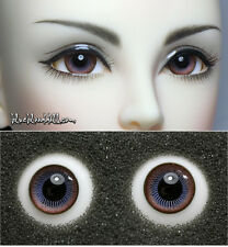 1/3 1/4 bjd 16mm two tone color high quality glass doll eyes M-38 dollfie luts