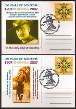 ROMANIA 2007 MAXI CARDS SCOUTS 100 YEARS EUROPA CEPT #1