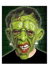 Latex Frankenstein Mask With Hair Horror Halloween Fancy Dress P8502