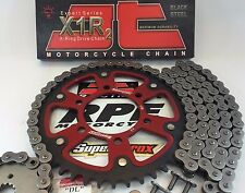 GSXR600 2011-16 Red Supersprox 520 16/43 OEM Ratio Chain and Sprocket Kit