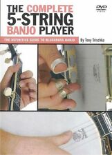 Learn to Play Bluegrass The Complete 5 String Banjo DVD PICKING STRUMMING LESSON