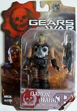 "DAMON BAIRD Gears of War Video Game 4"" inch Action Figure Series 1 Neca 2013"