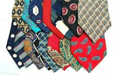 95 MEN'S DRESS SILK QUILTING ART PROJECTS NECK TIE NECKTIE TIES LOT FREE SHIP