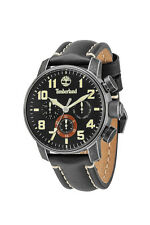 TIMBERLAND Mens Mascoma TBL14439JSQ/02 Black Leather Strap Watch - Gift Boxed